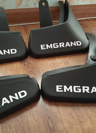 Брызговики Geely Emgrand Ec7 Оригинальный Логотип