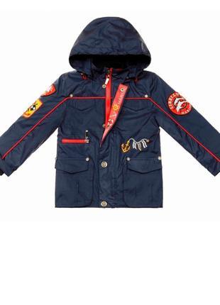 Демисезонная куртка+ветровка+бомбер LIBELLULE размер 92