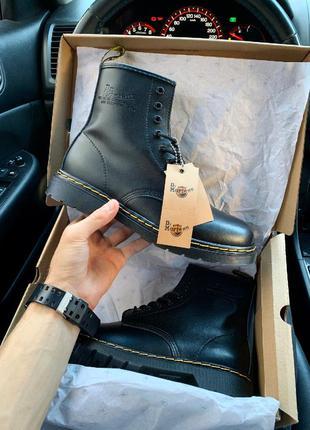 Мужские осенние ботинки dr. martens 1460 black
