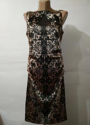 Платье вечернее шикарное под атлас с драпировкой london times ...