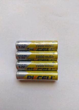 Аккумуляторы AAA Pkcell 1000 Mah Аккумуляторные Батарейки