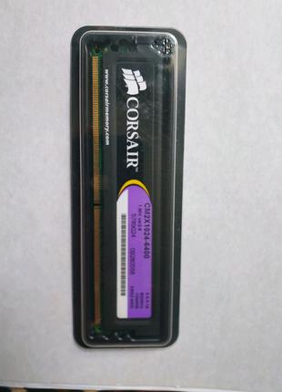 Corsair XMS2 DDR-2 1GB 800Mhz.