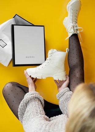 Трендовые женские ботинки на шнуровке ❤️
