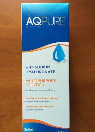 Раствор для линз AQPURE 360 ml