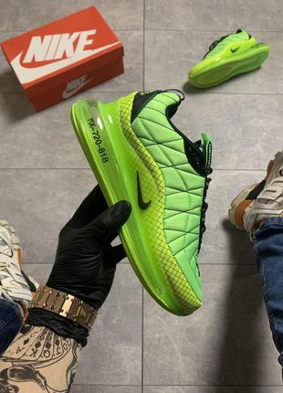 Nike air max 720-98 toxic green