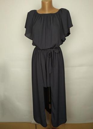 Комбинезон юбка шорты легкий красивый uk 12/40/m