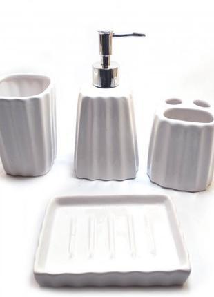 Набор для ванной керамический (29х20,5х10 см)