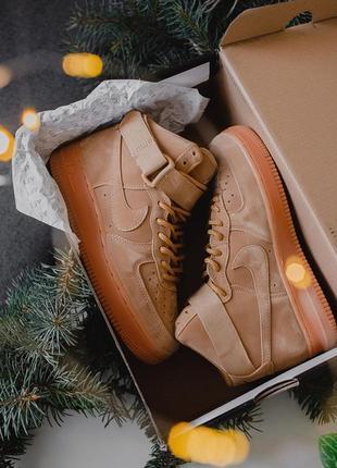 Кросівки nike air force brown кроссовки