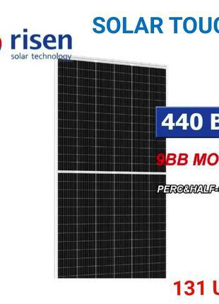 Сонячна панель батарея. Зелений тариф. RISEN 440W . СЕС