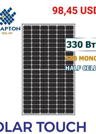 Сонячні батареї панелі. Зелений тариф. LEAPTON 330W . Фотомодуль