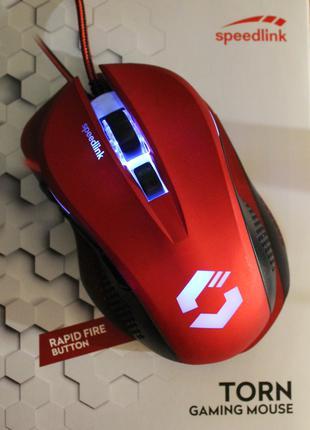 Мышь SPEEDLINK, 7 кнопок, подсветка, удобная, большая. Германия.