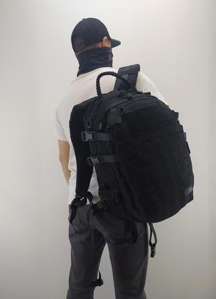 Тактический рюкзак m-tac (mission pack laser cut black)