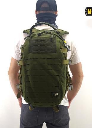 Тактический рюкзак m-tac (mission pack laser cut olive)