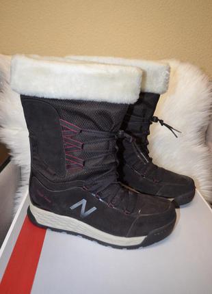 Кожаные зимние сапоги ботинки new balance fresh foam 42 размер...