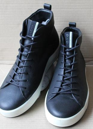 Ботинки ecco soft 8 440554 оригінал натуральна кожа