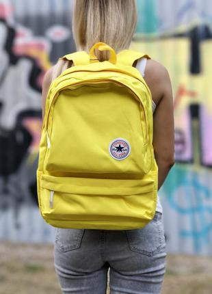 Рюкзак converse all stars yellow наплічник
