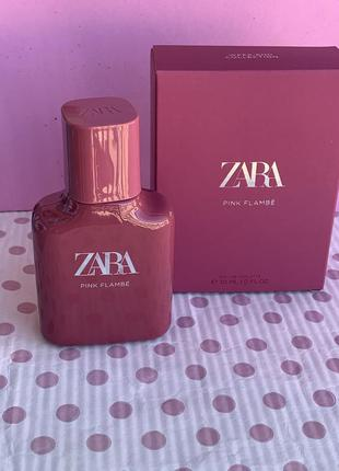 Духи zara pink flambé/парфюм/парфуми/туалетная вода/туалетна вода