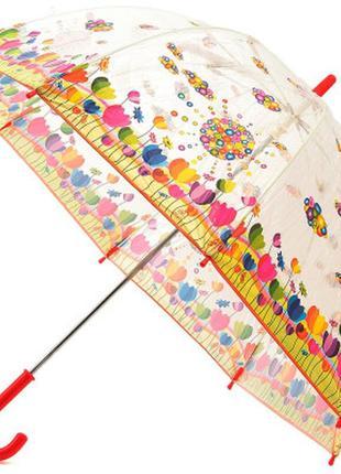 Зонт трость детская zest солнечная лужайка