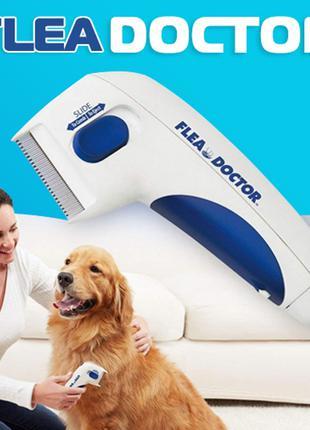 Электрическая расческа от блох для животных (кошки,собаки)
