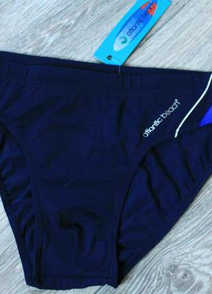 Мужские темно-синие пляжные плавки atlantic