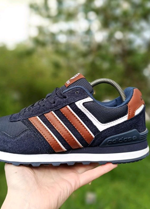 Кроссовки Адидас, мужские кроссовки Adidas, замшевые кроссовки