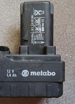 Аккумулятор к шуруповерту Metabo