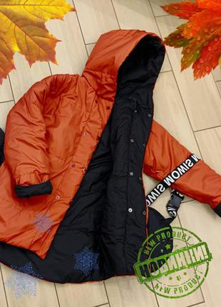 Сумка в подарок 🎁 куртка пуховик женская зима демисезонная