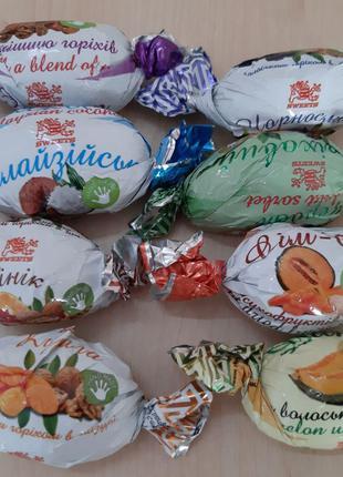 Конфеты с начинкой в шоколаде