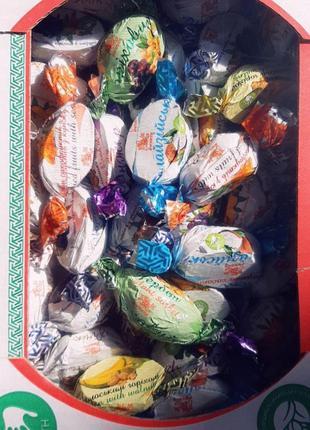 Сухофрукты в шоколаде и грецким орехом 1 кг