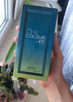 Avon Life Colour by Kenzo Takada редкость снятость оригинал