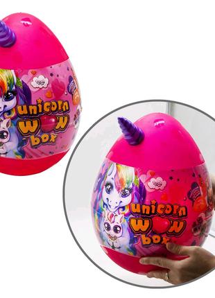 "Игрушка-сюрприз ""Unicorn WOW Box"" малиновый"