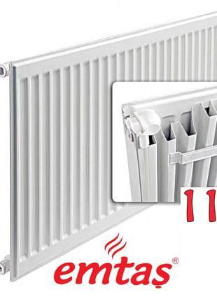 Панельный радиатор EMTAS 11К 300х1400 боковое подключение