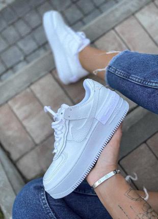 Nike air force 1shadow low шикарные женские кроссовки найк еир...