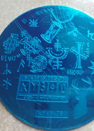Пластина hehe061 стемпинг трафарет форма плитка диск для маникюра