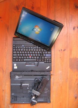 Lenovo X200 Tablet + UltraBase + 3G GSM + GPS + Webcam