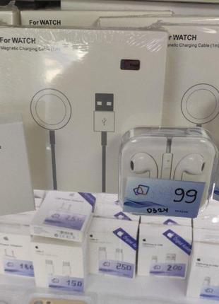 Зарядка Apple Watch 1 2 3 4 5Gen магнитный кабель часы Charging