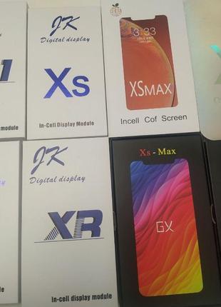 Дисплей IPhone XR модуль X OLED экран XS замена XS Max GX 11 р...