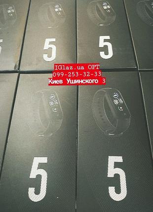 Фитнес-браслет XIAOMI Mi Smart Band 5 Blac трекер умные часы п...