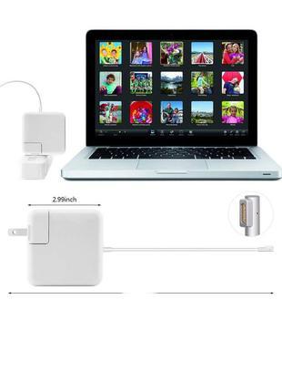 Блок питания MagSafe 85Bт зарядка Макбук 60W macbook Максейф 2...