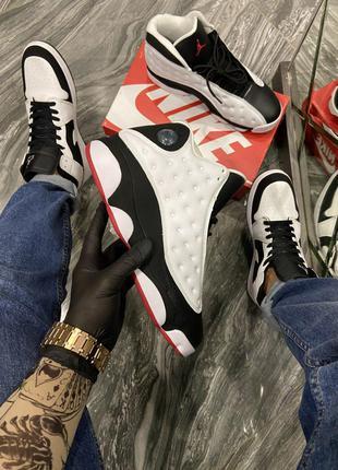 Кроссовки Nike Air Jordan 13 White Black