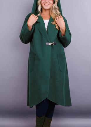 Размеры 50-64! стильное пальто кардиган кашемир бутылка, в раз...