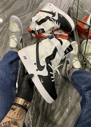 Nike air force special field white black