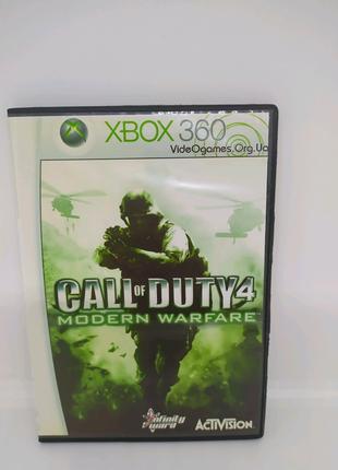 CAll of Duty 4 наXbox 360