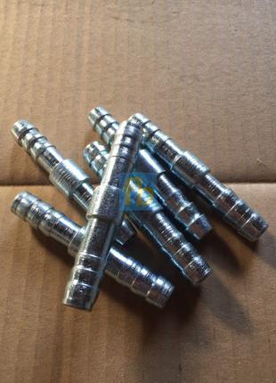 Оптовая цена - Лот 5штук - Фитинги стальные 13мм соединительные
