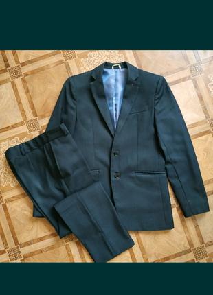 Костюм в школу, школьный костюм,пиджак и брюки