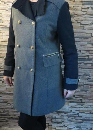Пальто женское демисезонное pink lady большой размер батал 52-...