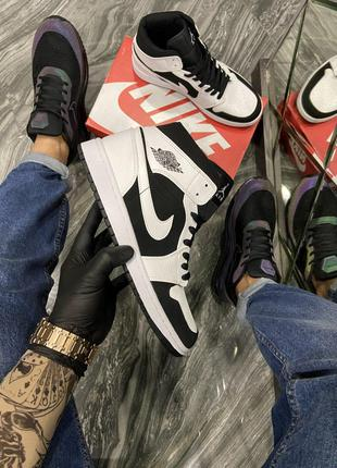 Кроссовки Nike Air Jordan 1 White Black