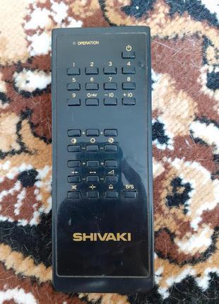 Пульт Shivaki 105-057C в рабочем состоянии