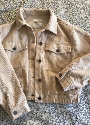 Вельветовая куртка PULL&BEAR