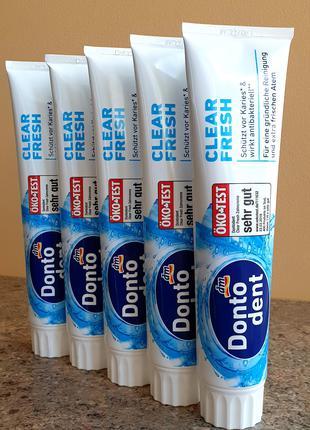 Бытовая Химия Зубная Паста DONTO DENT DM Германия Опт Оригинал